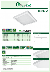 LED Clean CR2