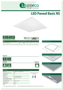 LED Paneel Basic NS Leaflet